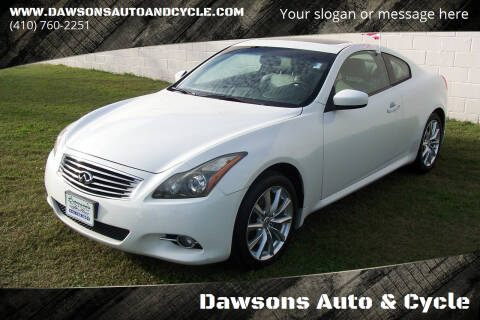 2011 Infiniti G37 Coupe for sale at Dawsons Auto & Cycle in Glen Burnie MD