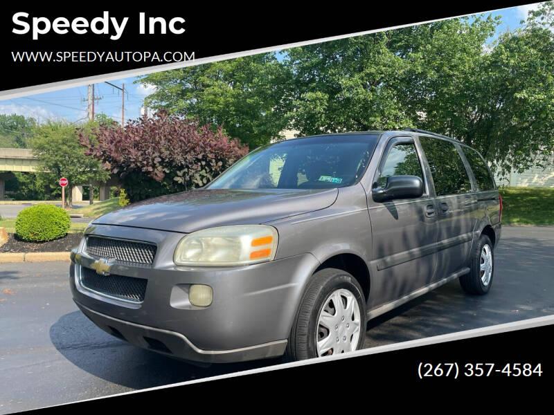 2007 Chevrolet Uplander for sale in Philadelphia, PA