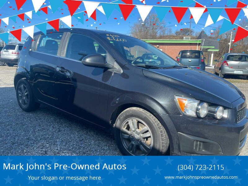 2013 Chevrolet Sonic for sale at Mark John's Pre-Owned Autos in Weirton WV