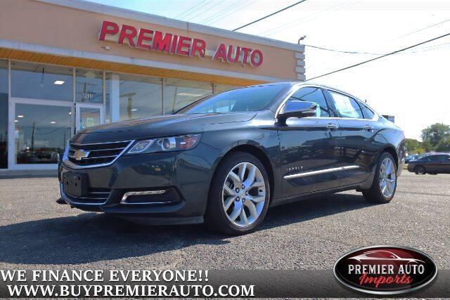 2018 Chevrolet Impala for sale at PREMIER AUTO IMPORTS - Temple Hills Location in Temple Hills MD