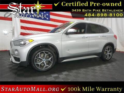 2018 BMW X1 for sale at STAR AUTO MALL 512 in Bethlehem PA