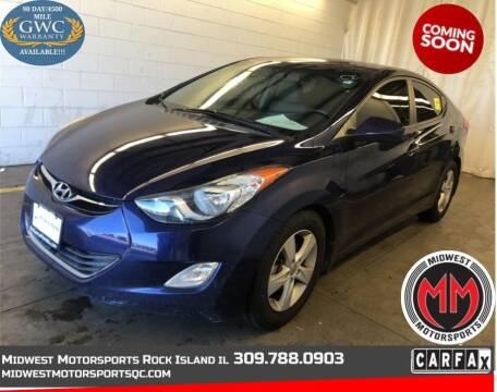 2013 Hyundai Elantra for sale at MIDWEST MOTORSPORTS in Rock Island IL