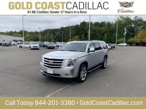 2018 Cadillac Escalade ESV for sale at Gold Coast Cadillac in Oakhurst NJ