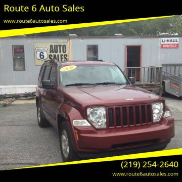 2009 Jeep Liberty for sale at Route 6 Auto Sales in Portage IN