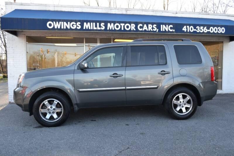 2009 Honda Pilot for sale at Owings Mills Motor Cars in Owings Mills MD