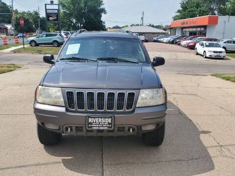 2002 Jeep Grand Cherokee for sale at RIVERSIDE AUTO SALES in Sioux City IA