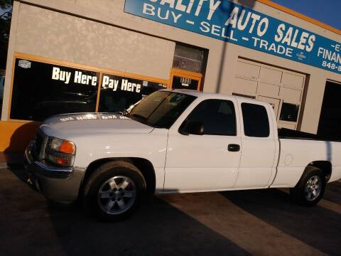 2007 GMC Sierra 1500 Classic for sale at QUALITY AUTO SALES OF FLORIDA in New Port Richey FL
