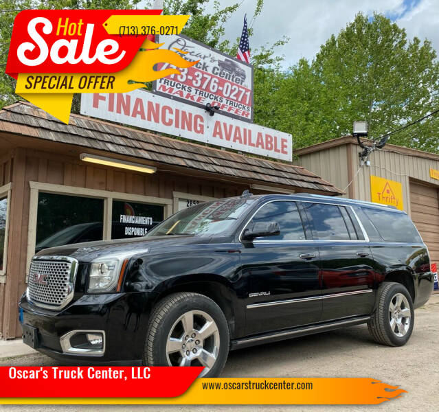 2016 GMC Yukon XL for sale at Oscar's Truck Center, LLC in Houston TX