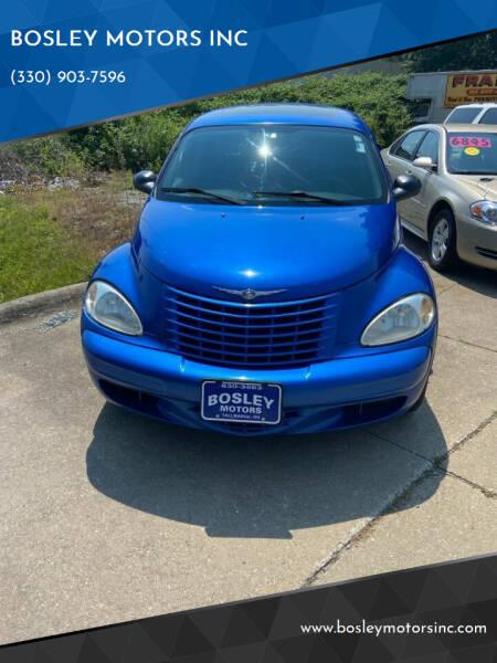 2005 Chrysler PT Cruiser for sale at BOSLEY MOTORS INC in Tallmadge OH