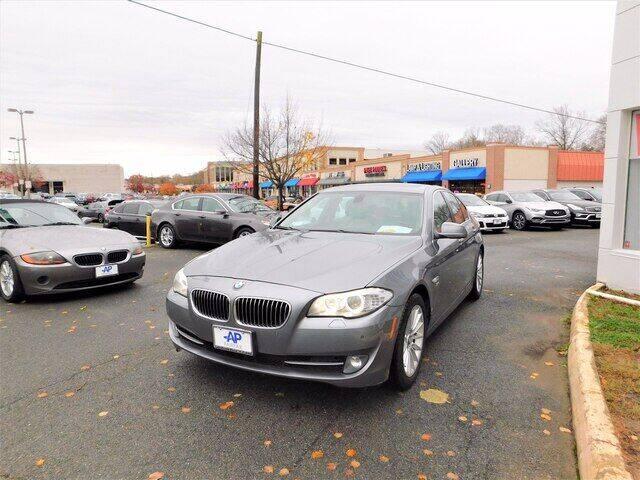 2012 BMW 5 Series for sale at AP Fairfax in Fairfax VA