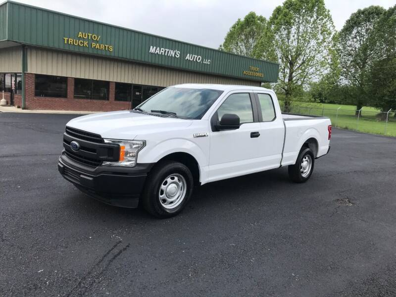 2018 Ford F-150 for sale at Martin's Auto in London KY
