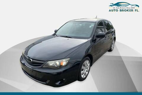 2011 Subaru Impreza for sale at INTERNATIONAL AUTO BROKERS INC in Hollywood FL