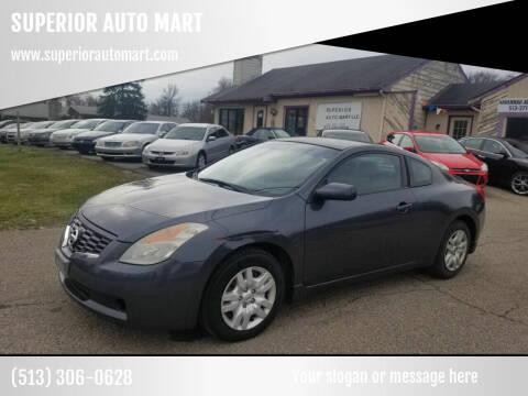 2009 Nissan Altima for sale at SUPERIOR AUTO MART in Amelia OH