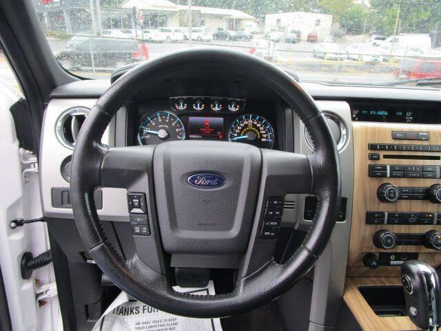 2011 Ford F-150 SUPERCREW LARIAT - Gainesville GA