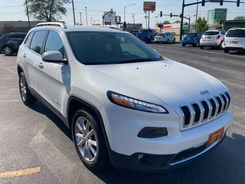 2016 Jeep Cherokee for sale at RABIDEAU'S AUTO MART in Green Bay WI