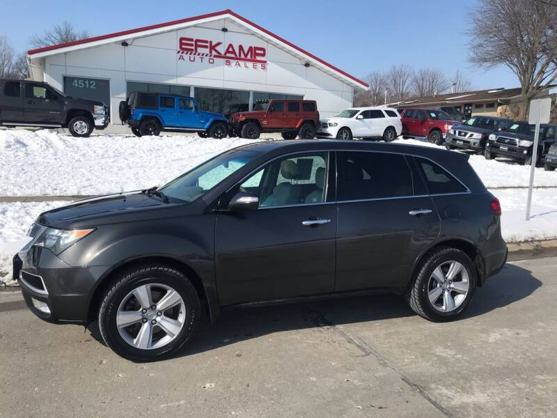 2011 Acura MDX for sale at Efkamp Auto Sales LLC in Des Moines IA