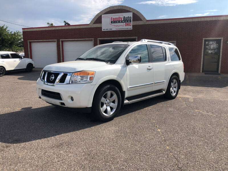 2013 Nissan Armada for sale at Family Auto Finance OKC LLC in Oklahoma City OK