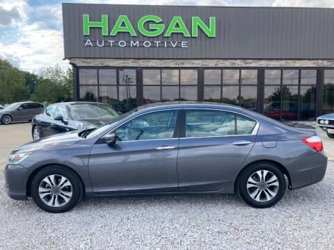 2013 Honda Accord for sale at Hagan Automotive in Chatham IL