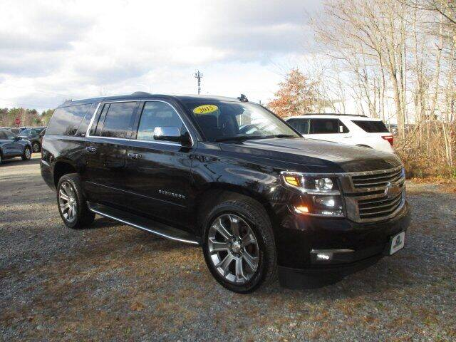 2016 Chevrolet Suburban for sale at MC FARLAND FORD in Exeter NH