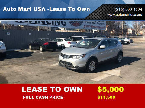 2019 Nissan Rogue for sale at Auto Mart USA -Lease To Own in Kansas City MO