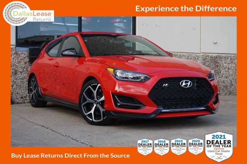 2020 Hyundai Veloster N for sale at Dallas Auto Finance in Dallas TX