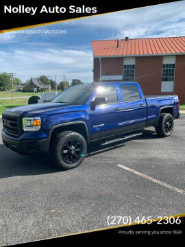 2014 GMC Sierra 1500 for sale at Nolley Auto Sales in Campbellsville KY