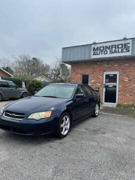 2007 Subaru Legacy for sale at Monroe Auto Sales Inc in Wilmington NC
