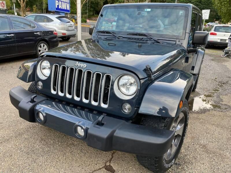 2018 Jeep Wrangler JK Unlimited for sale at Exotic Motors in Redmond WA