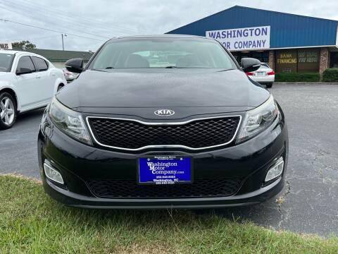 2015 Kia Optima for sale at Greenville Motor Company in Greenville NC