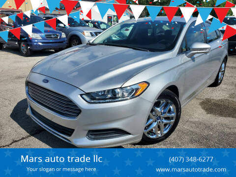 2013 Ford Fusion for sale at Mars auto trade llc in Kissimmee FL