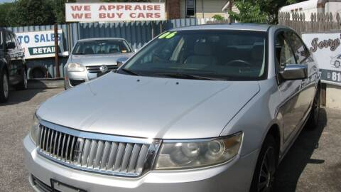 2006 Lincoln Zephyr for sale at JERRY'S AUTO SALES in Staten Island NY