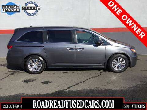 2016 Honda Odyssey for sale at Road Ready Used Cars in Ansonia CT