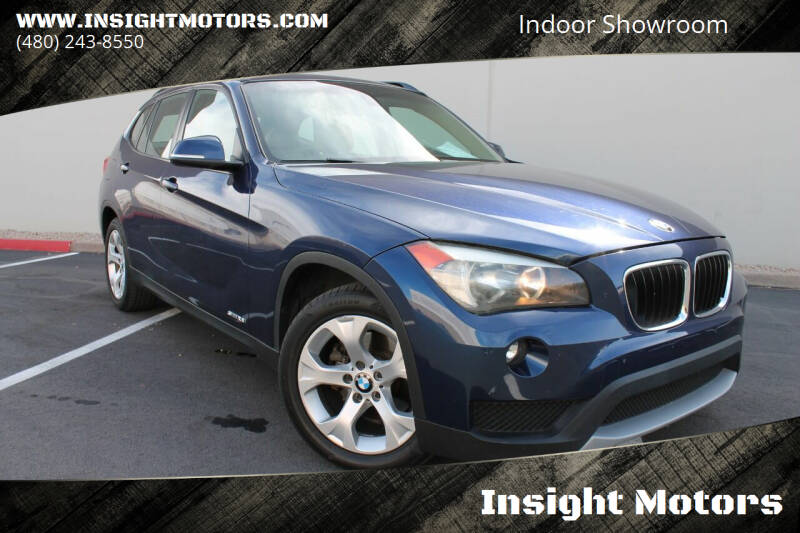 2013 BMW X1 for sale at Insight Motors in Tempe AZ