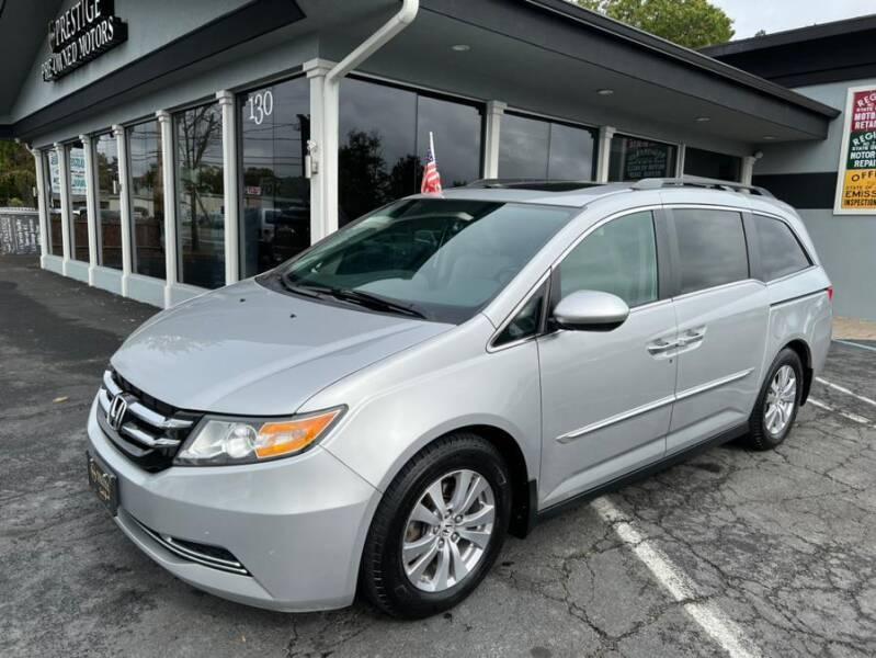 2015 Honda Odyssey for sale at Prestige Pre - Owned Motors in New Windsor NY