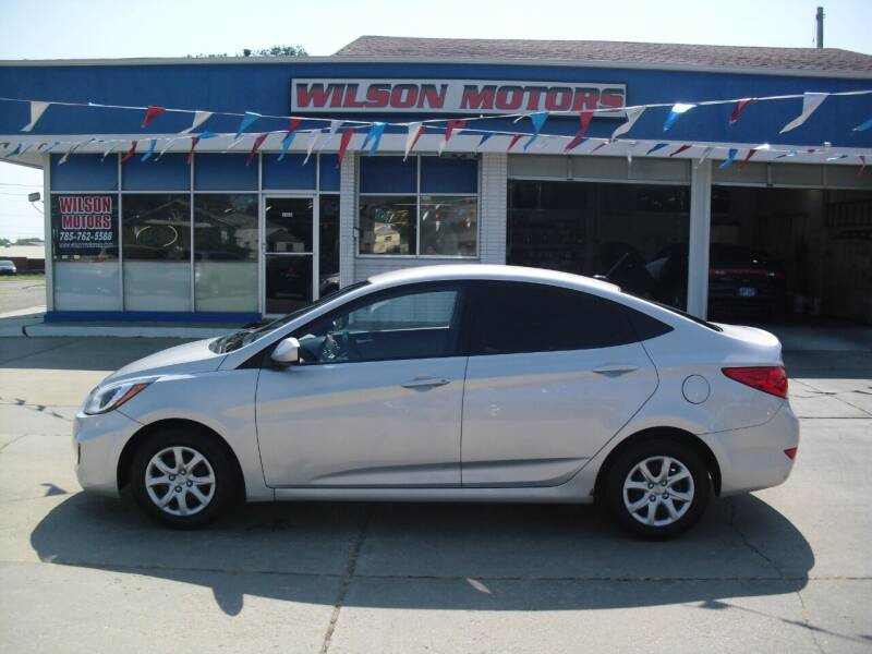 2013 Hyundai Accent for sale at Wilson Motors in Junction City KS