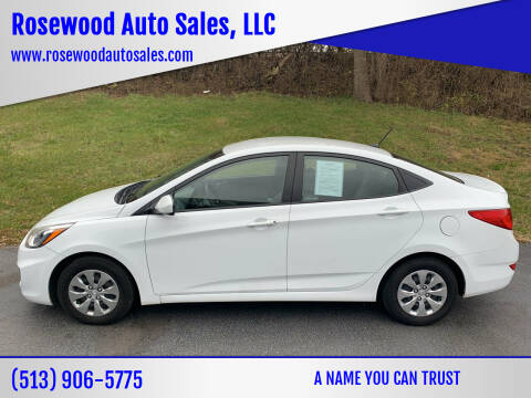 2017 Hyundai Accent for sale at Rosewood Auto Sales, LLC in Hamilton OH