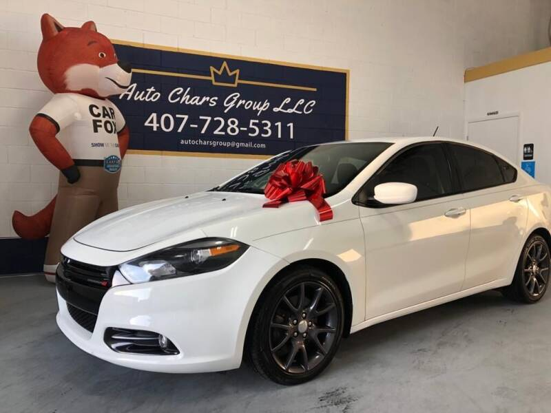 2016 Dodge Dart for sale at Auto Chars Group LLC in Orlando FL