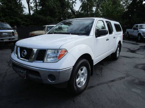 2006 Nissan Frontier for sale at LULAY'S CAR CONNECTION in Salem OR