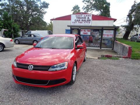 2013 Volkswagen Jetta for sale at EAST LAKE TRUCK & CAR SALES in Holiday FL