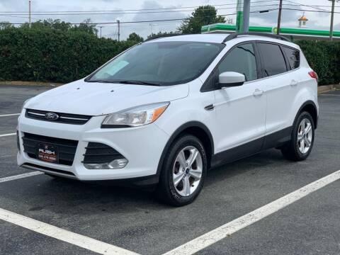 2016 Ford Escape for sale at RUSH AUTO SALES in Burlington NC