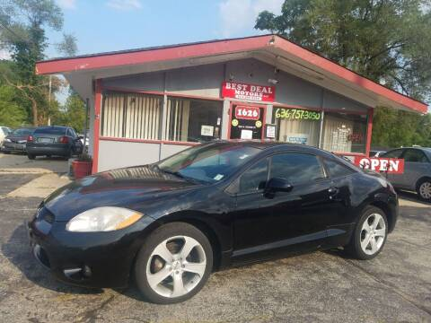 2007 Mitsubishi Eclipse for sale at Best Deal Motors in Saint Charles MO