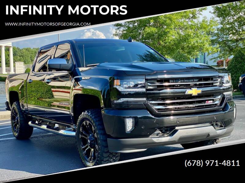 2016 Chevrolet Silverado 1500 for sale at INFINITY MOTORS in Gainesville GA