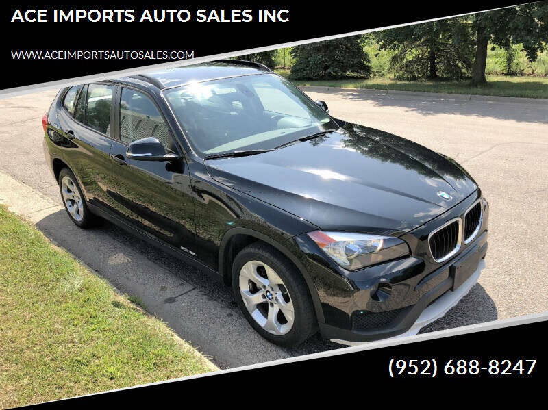 2015 BMW X1 for sale at ACE IMPORTS AUTO SALES INC in Hopkins MN