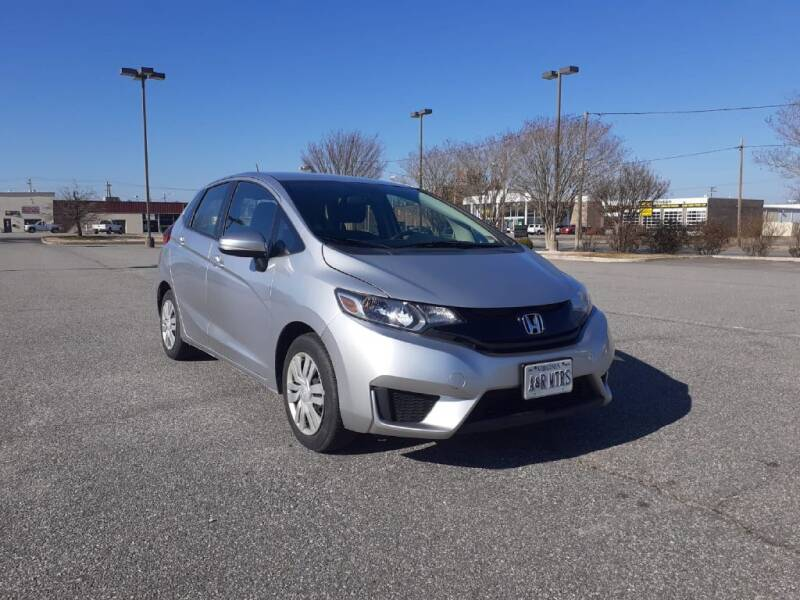 2016 Honda Fit for sale at A&R MOTORS in Portsmouth VA