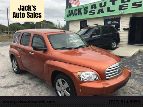 2006 Chevrolet HHR for sale at Jack's Auto Sales in Port Richey FL