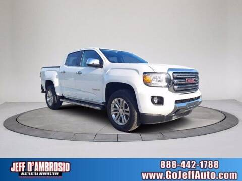 2016 GMC Canyon for sale at Jeff D'Ambrosio Auto Group in Downingtown PA