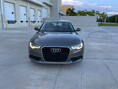 2014 Audi A6 for sale at EUROPEAN AUTO ALLIANCE LLC in Coral Springs FL