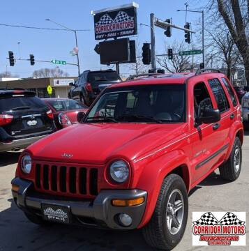 2004 Jeep Liberty for sale at Corridor Motors in Cedar Rapids IA