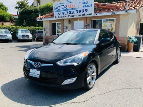 2014 Hyundai Veloster for sale at MotorMax in Lemon Grove CA
