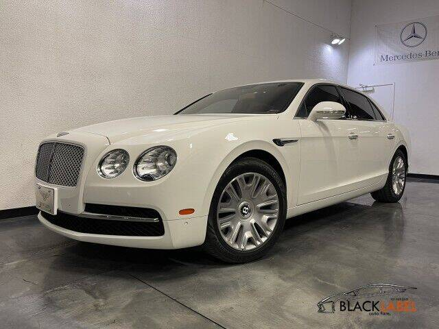2014 Bentley Flying Spur for sale at BLACK LABEL AUTO FIRM in Riverside CA